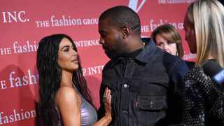Kanye West, right, and wife Kim Kardashian West attend The Fashion Group International's annual 'Night of Stars' gala at Cipriani Wall Street on Thursday, Oct. 24, 2019, in New York. Picture: AP