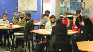 Kay Mason Foundation learners at a pilot grade 12 job readiness workshop in March this year.