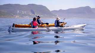Kayak Cape Town offers sea kayak paddling experience in Simons Town. Picture: Ayanda Ndamane African News Agency(ANA).