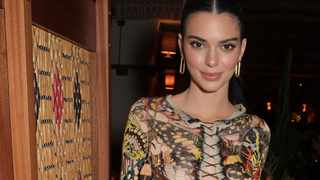 Kendall Jenner has revealed her niece Stormi Webster has a crush her boyfriend. Picture: Bang Showbiz