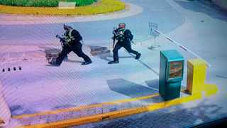 Kenyan police have warned the public not to panic after bomb experts found an explosive in the Dusit office park which terrorists stormed in. Picture: Security Camera Footage via AP