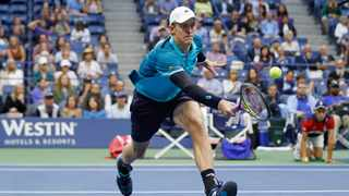 Kevin Anderson has moved up to 15th on the ATP rankings. Photo: Adam Hunger/AP