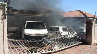 Kgetlengrivier mayor Kim Medupe's house, her guesthouse and vehicles were torched during a service delivery protest in Koster in the North West. FILE PHOTO: ANA