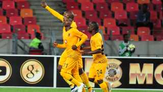 Khama Billiat was the hero for Kaizer Chiefs on Wednesday night. Photo: Deryck Foster/BackpagePix