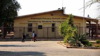 Khensani Primary School in Soshanguve, where a Grade 1 learner, 6, was allegedly raped by a general worker. Picture: Oupa Mokoena/African News Agency (ANA)