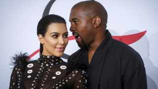 Kim Kardashian West and Kanye West. Picture: Reuters