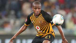Lebogang Manyama of Kaizer Chiefs during the Absa Premiership 2019/20 match between Kaizer Chiefs and Black Leopards at the Moses Mabhida Stadium, Durban on the 10 August 2019 ©Muzi Ntombela/BackpagePix