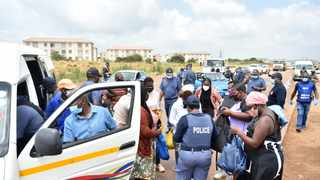 Lieutenant-General Elias Mawela recently led an anti-crime operation in Mamelodi after reports of a gang terrorising businesses in the community and soliciting protection fees. Picture: Thobile Mathonsi/African News Agency(ANA)