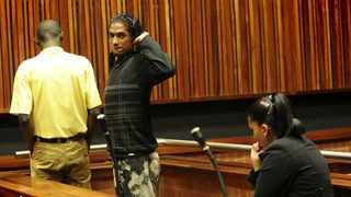 Linden Wagner is seen at the Palm Ridge Magistrate's Court. File photo: Itumeleng English