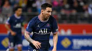 Lionel Messi's dream to win the Champions League with PSG kicks off tonight. Photo: Franck Fife/AFP