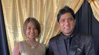 Lisa Sukdev and Theasan Pillay at the 20th anniversay celebration of his legal practice. Picture: Facebook