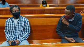 Lunga Welcome and Masixole Mbeke were sentenced to life imprisonment in the Port Elizabeth High Court. Picture: SUPPLIED