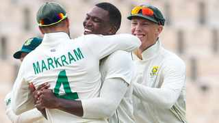 Lungi Ngidi and the rest of the Proteas bowlers has put the South Africa in a strong position in the second Test against the West Indies. Picture: West Indies Cricket.