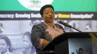 MEC for Economic Development, Tourism and Environmental Affairs Nomusa Dube-Ncube has cracked the whip and suspended the entire Ezemvelo board with immediate effect. Picture: Nqobile Mbonambi/African News Agency (ANA)