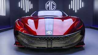 MG Cyberster concept car