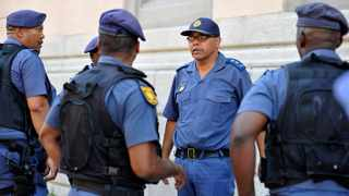 Major-General Andre Lincoln and his Anti-Gang Unit. Photo: NoorSlamdien/African News Agency (ANA)