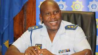 Major General Thembisile Patekile commenced his new job as acting police commissioner in the Western Cape on Monday. Picture: Sisonke Mlamla/Cape Argus