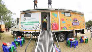 Manaba area recieves state of the art Mobile Early Child Development Centre Picture: Supplied.