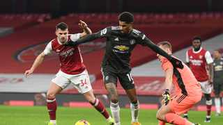Manchester United forward Marcus Rashford said the racial abuse he received online after Saturday's 0-0 draw at Arsenal was 'humanity and social media at its worst'. Photo: Andy Rain/Reuters