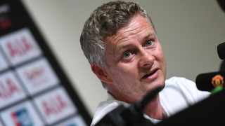 Manchester United manager Ole Gunnar Solskjaer speaks during a press conference. Photo: Then Chih Wey/IANS