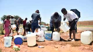 Many areas in Johannesburg were left without water this week. Picture: Itumeleng English/ African News Agency /ANA