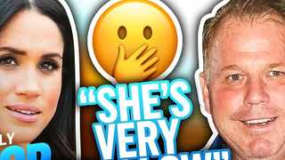 Markle Jr's scathing attack caught the eye of Daily Pop on E! News, causing the presenters to call him out for his callous words. Picture: YouTube.com