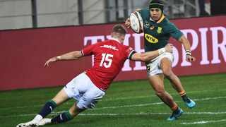 Maxime Medard says Cheslin Kolbe gave everything for Toulouse. Picture: Phando Jikelo/African News Agency (ANA)