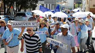 Mayor Dan Plato calls on residents and interested parties to comment on renaming Keizersgracht in District Six to its historical name of Hanover Street. Picture: David Ritchie/ANA Photo