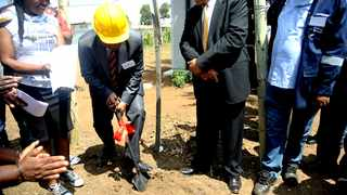 Mayor Herman Mashaba at Meriting Informal settlement, south of Johannesburg, to launch the second phase of electrification, which will supply electricity to 480 households. Picture: Nokuthula Mbatha/African News Agency(ANA)