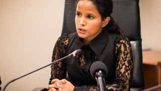 Mayoral Committee Member for Water and Waste Xanthea Limberg. File picture: African News Agency (ANA)