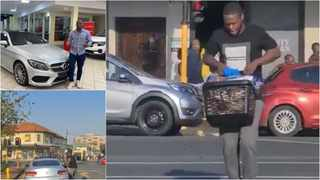 Mbuso Moloi, the 30-year-old Durban North man who was caught on video allegedly looting a basket of goods from a Woolworths food store in Glenwood made his first appearance in court.