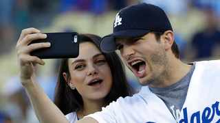 Meanwhile, Mila recently revealed she and Ashton took their kids daughter Wyatt, six, and son Dimitri, four, to a baby rave during lockdown. Picture: AP