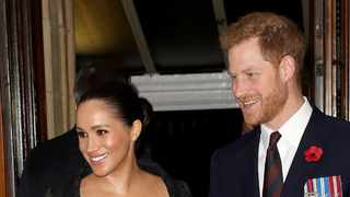Meghan, Duchess of Sussex and Prince Harry, Duke of Sussex attend the annual Royal British Legion Festival of Remembrance at the Royal Albert Hall on November 09, 2019 in London, England. Picture: Bang Showbiz