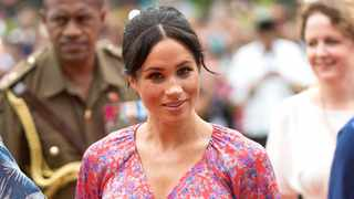 Meghan, the Duchess of Sussex visit the University of the South Pacific campus in Suva. Picture: Bang Showbiz