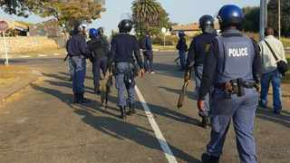 Members of the Ennerdale community are split over protests which have been ongoing since Tuesday. Picture: Ilanit Chernick/The Star