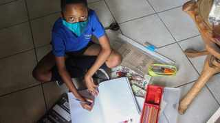 Mgidvowenkhosi Makhubu (11) cant wait to start grade 6 at Wierda Independent School. Picture: Jacques Naude/African News Agency (ANA)
