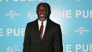 Michael K. Williams arrives for the premiere of 'The Public' at the New York Public Library in New York, U.S., April 1, 2019. Picture: Reuters/Caitlin Ochs