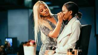 Mihlali Ndamase hosted a masterclass. Picture: Supplied.