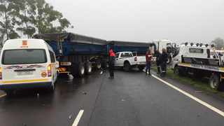 Miles le Roux, N3TC's transport engineer, said single-vehicle crashes were a direct result of human error and constituted the majority of crashes on the N3 toll route. Photo: ER24