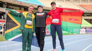 Miné De Klerk led from the front again on Saturday when South Africa raked in four more medals on Day 4 of the World Athletics Under-20 Championships in Nairobi, Kenya. Photo: @WorldAthletics/Twitter