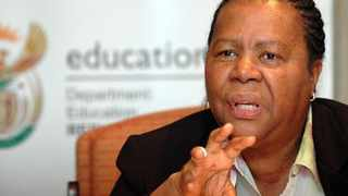 Minister Naledi Pandor is the chairperson of the ANC's NEC's subcommittee on health and education. File Picture