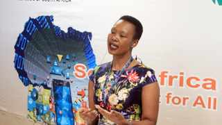Minister of Communications Stella Ndabeni-Abrahams at the DTPS/Nokia Innovation Day. File picture: Jacques Naude/African News Agency (ANA)