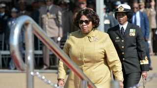 Minister of Defence and Military Veterans Nosiviwe Mapisa-Nqakula allegedly received wads of cash and other gifts 'under the table'. Picture: Oupa Mokoena African News Agency (ANA)
