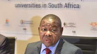 Minister of Higher Education, Blade Nzimande. Picture: Thobile Mathonsi/African News Agency(ANA)