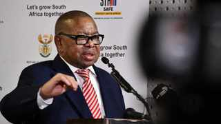Minister of Higher Education, Science and Innovation, Dr Blade Nzimande Picture: GCIS
