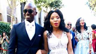 Minister of Home Affairs Malusi Gigaba and his wife Norma Mngoma. PICTURE: Aphiwe Fredericks