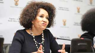 Minister of Human Settlements, Water and Sanitation Lindiwe Sisulu. Picture: Phando Jikelo African News Agency (ANA)