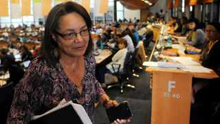 Minister of Public Works and Infrastructure Patricia de Lille. Picture: Tracey Adams/African News Agency (ANA) Archives