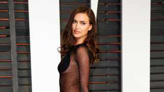 Model Irina Shayk arrives at the 2015 Vanity Fair Oscar Party in Beverly Hills, California February 22, 2015. Picture: Reuters/Danny Moloshok