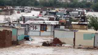 More than 700 shacks at an informal settlement in Eerste Fabrieke, Mamelodi, were swept away by floods in December 2019. File Picture: Bongani Shilubane/ANA